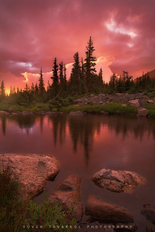 Parallels by Koveh Tavakkol, via 500px; Rocky Mountain National Park, Colorado