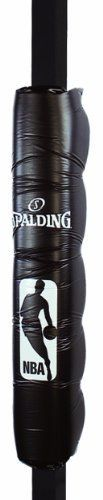 Spalding Pole Pad  (For 3-inch to 4-inch Poles) by Spalding. $54.95. Product Description                A Division of Russell Brands, LLC, Spalding is the largest basketball equipment supplier in the world, and America's first baseball company. Spalding is the official basketball of the National Basketball Association (NBA) and Women's National Basketball Association (WNBA), the official backboard of the NBA and NCAA, the official baseball of the Little League World Series, the...