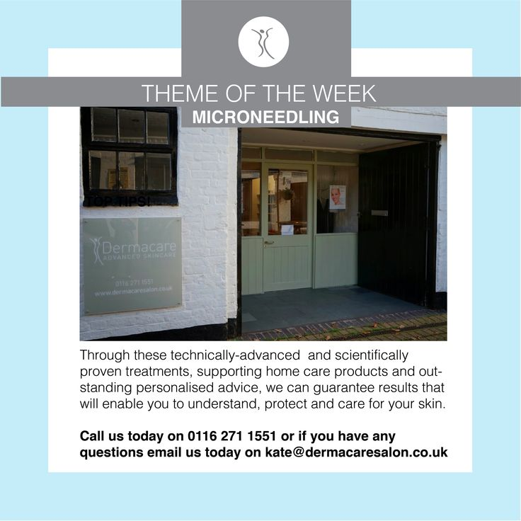 We offer microneedling treatments at our Dermacare Salon! Please click here for more information. http://dermacaresalon.co.uk/genuine-dermaroller-therapy-leicester/?utm_content=buffere017f&utm_medium=social&utm_source=pinterest.com&utm_campaign=buffer #dermacaredirect
