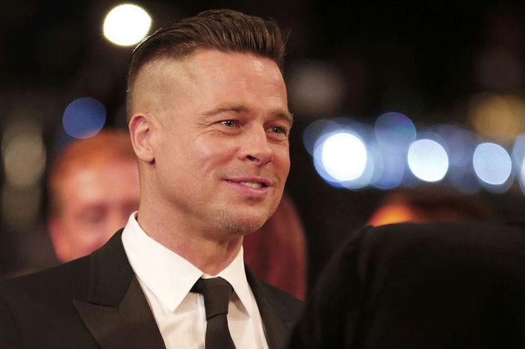 Brad Pitt's SAG hair: As Brad Pitt finally debuts an acceptable ...
