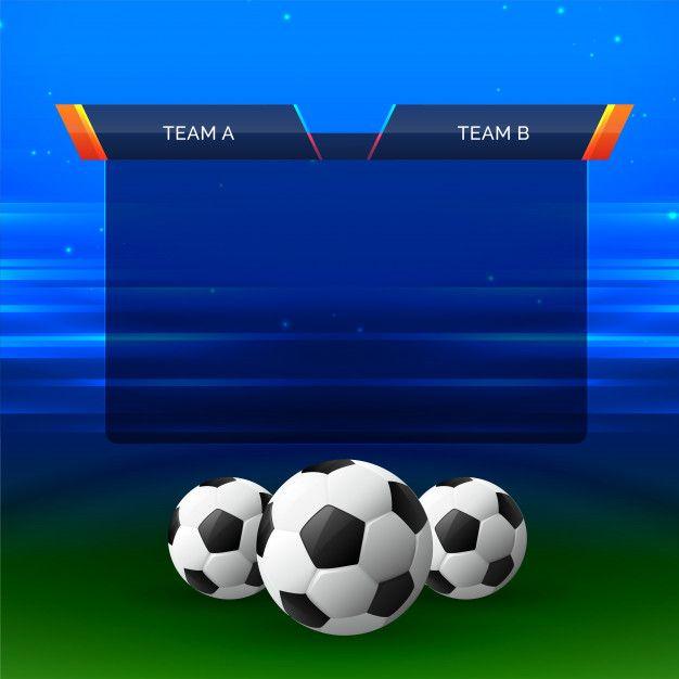 Football Sports Chart Design Background Free Vector Vector Free Football Design Football
