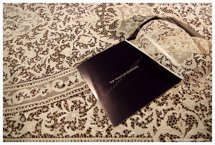 Abilmente Vicenza 2015 - Martina Vidal Venezia in mostra al Salone del Ricamo e del Merletto - tovaglia in merletto lace tablecloth