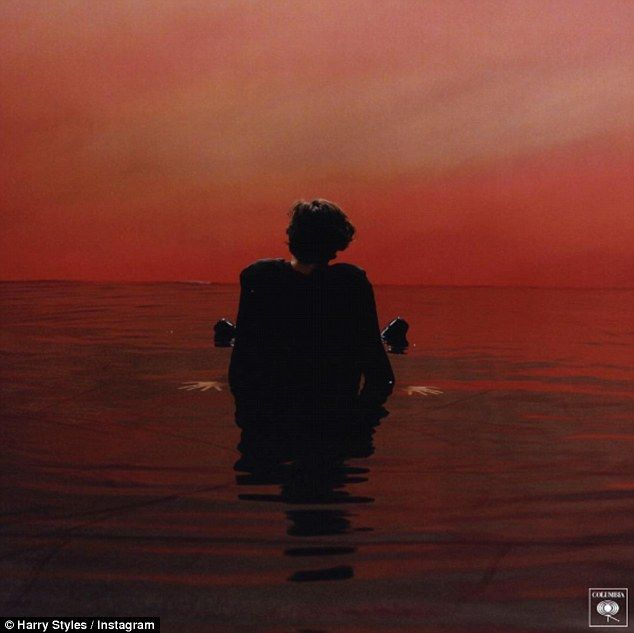 Word it out: Harry Styles has finally confirmed he is set to release his first single Sign...