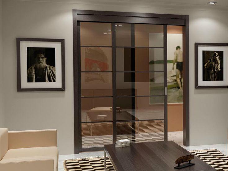 M s de 25 ideas incre bles sobre puertas corredizas de - Puertas de vidrio para interiores ...