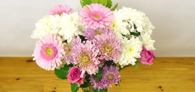 Sorteer bloemen in een vaas zoals een professionele bloemist! - Zelfmaak…