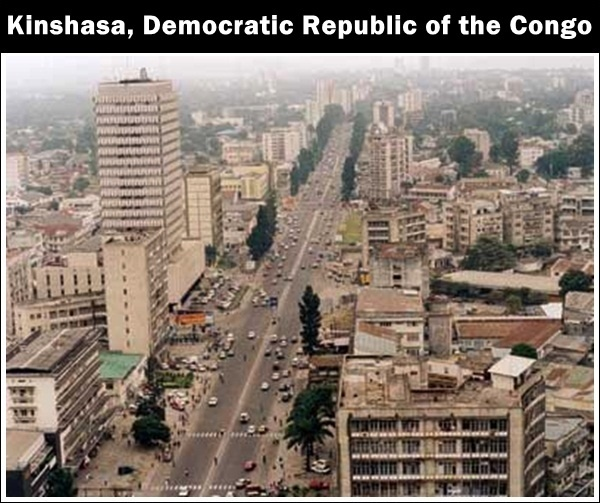 african cities | of african cities kinshasa democratic republic of ...