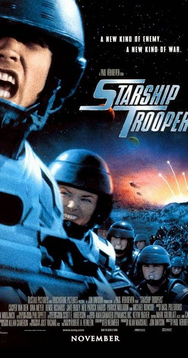 Starship Troopers http://www.imdb.com/title/tt0120201/