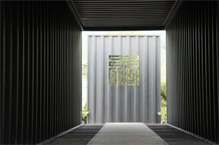 xiang xiang boutique container hotel, Changzhi, 2012
