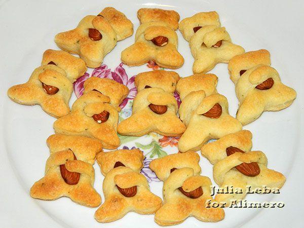 Печенье Мишки с орехами / Рецепты с фото