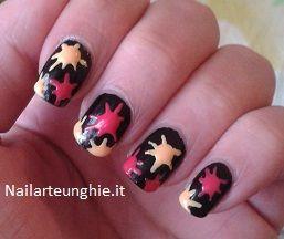 Tutorial nail art unghie lunghe