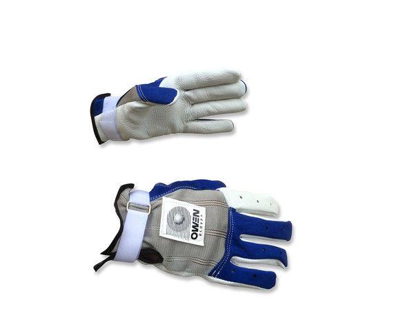 Owen Gloves 921 Unpadded Royal Blue & Gray – New York Handball Store