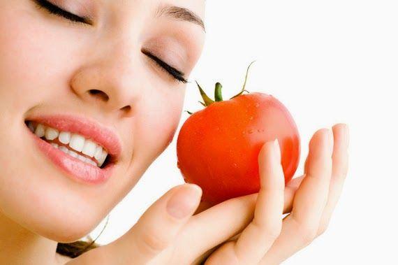 Cara Menghilangkan Noda Jerawat Menggunakan Tomat
