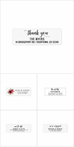 The 25+ best Address label template ideas on Pinterest Print - address change template