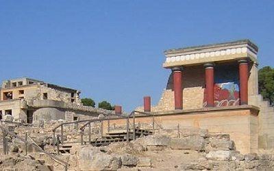 Paleis Knossos - Kreta - Griekenland