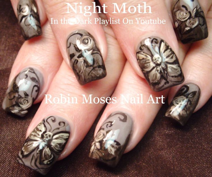 166 best halloween nail art pictures with tutorials images on skeleton butterfly halloween nails halloween halloweennails scary nailart nails prinsesfo Choice Image