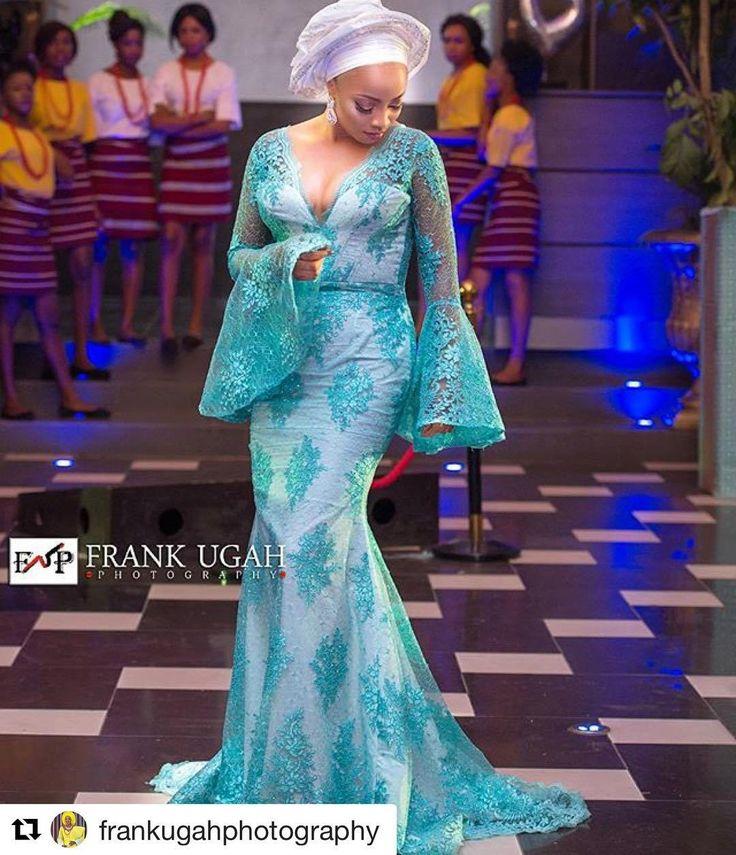 Sophisticated Nigerian Aso Ebi Styles  Amillionstylescom                                                                                                                                                                                 More
