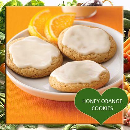 Orange Honey Cookies Recipe from Mamma's Recipes