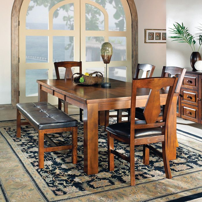 Shop For The Steve Silver Lakewood Casual Dining Room Group At Furniture Mattress
