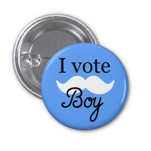 Boy Gender Reveal Button Gender Reveal Gender And Babies