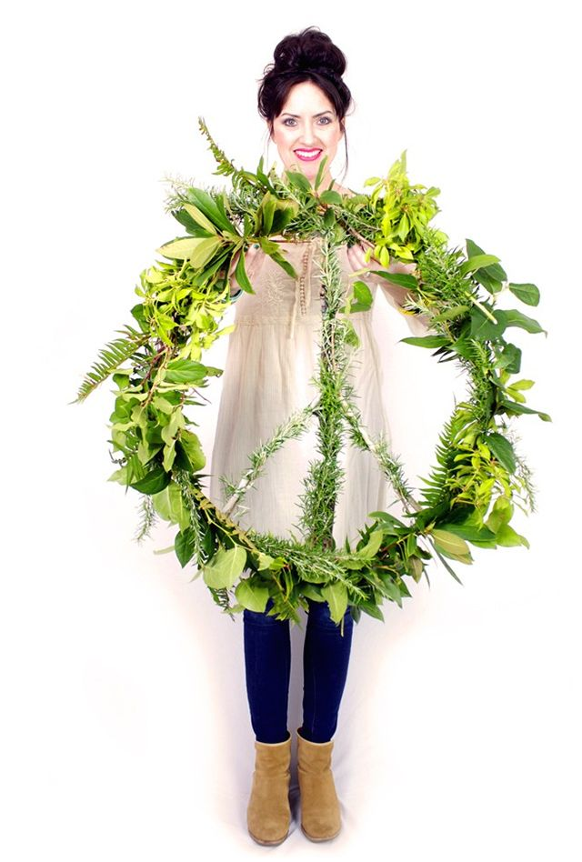 A long time ago, I had a job making wreaths during the holidays. I learned really fast that making your own wreath from greenery (a...