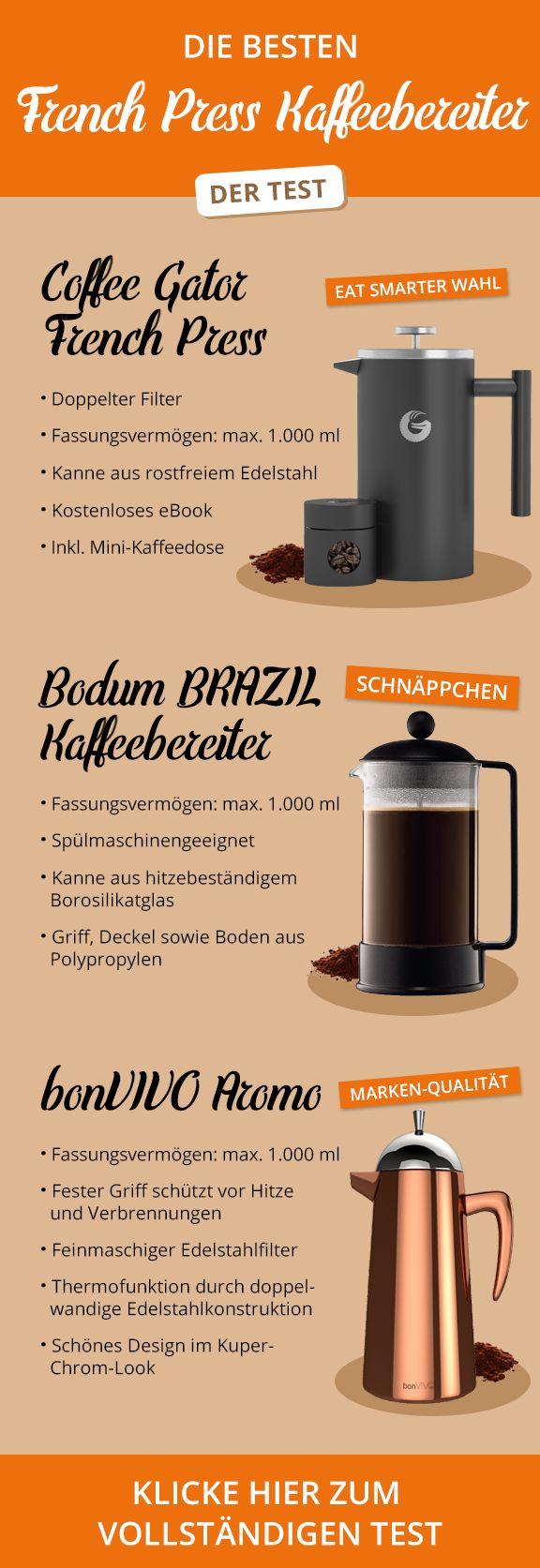Die besten French Press Kaffeebereiter im Test | eatsmarter.de