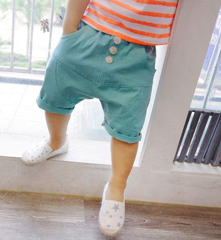 Mint Shorts for boys and girls aged 2-6. Cool kids fashion at Color Me WHIMSY.