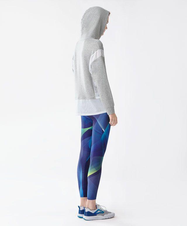 Legging imprimé - Leggings - Tendances printemps été 2017 en mode femme chez OYSHO online : lingerie, vêtements de sport, pyjamas, bain, maillots de bain, bodies, robe de chambre, accessoires et chaussures.