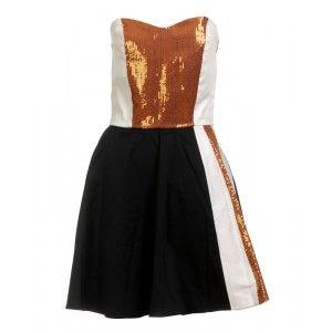 Gabriela Hezner - gorsetowa sukienka z cekinami