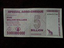 """#Зимбабве 5 000 000 000 долларов 2008 AE8652746 - 30 р. #  Изображение реальной боны или монеты. Состояние на скане или фото. Задавайте вопросы если есть до покупки. Отказ после покупки - занесение в """"чёрный список"""" и отрицательный отзыв.  Отправка всех купленных Вами одним письмом цена всегда за одно заказное письмо если отправка 1 классом или курьерской службой то уточняйте сразу. При покупке на 1000 р. и более отправка простым заказным за мой счёт. Спасибо за внимание к моим лотам…"""