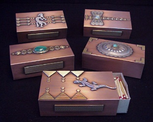 Southwestern Boxes, would be great for jewelry