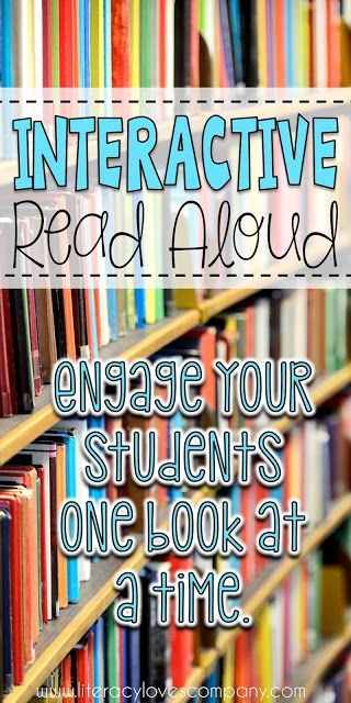 Interactive Read Aloud is a great way to add discussion and engagement to your elementary ELA classroom.