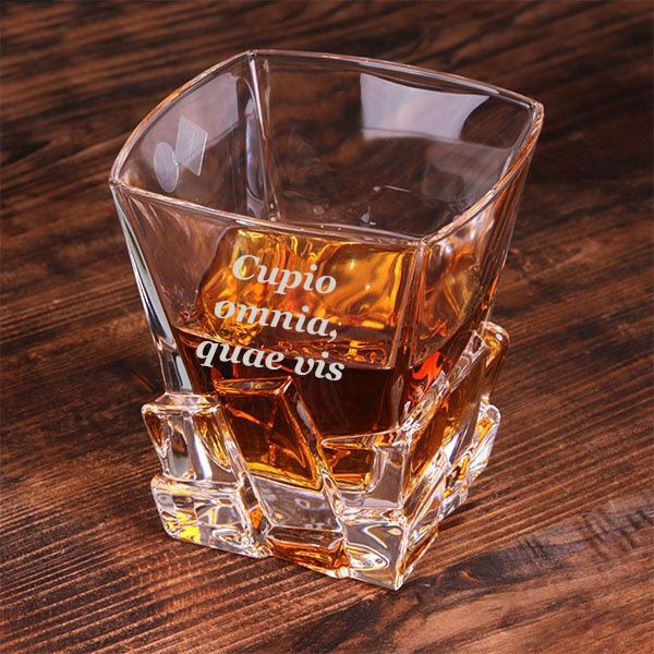 Стакан для виски с гравировкой