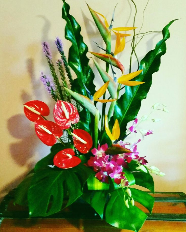Flower Arrangement by Fancy Flowers created by Felicity
