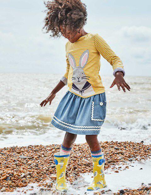 Twirly Nautical Skirt