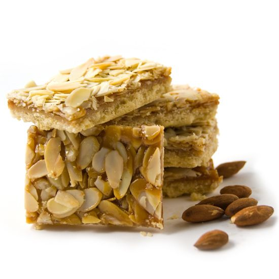 Caramel Almond Shortbread