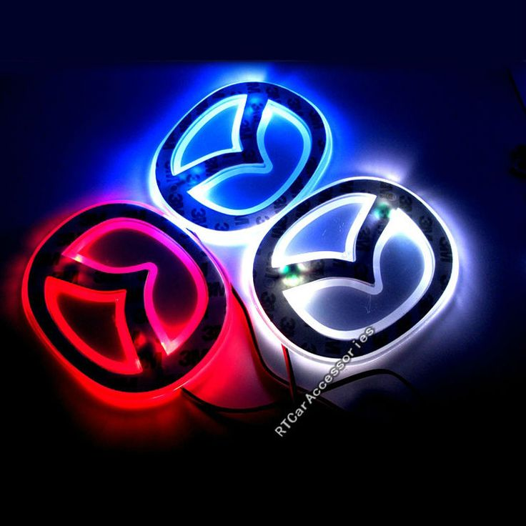 Aliexpress.com : Buy Free Shipping Mazda 2 3 5 6 Rear Lights Mazda Logo LED Light Sticker, Badge Light Blue/ Red/ White, Mazda LED Emblem from Reliable led car emblem suppliers on RTCarAccessories Online Store $7.99 http://www.allpillsonline.net/