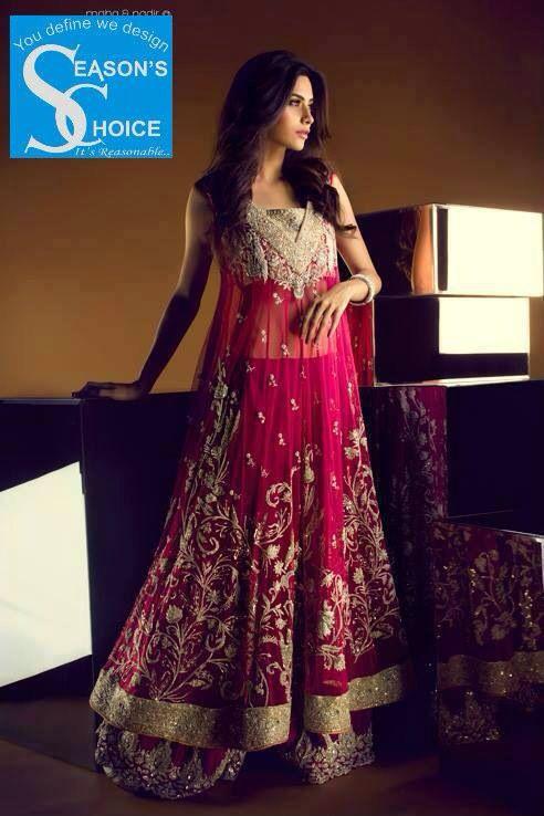 Designer replica pakistani bridal dress bridal party for Replica design