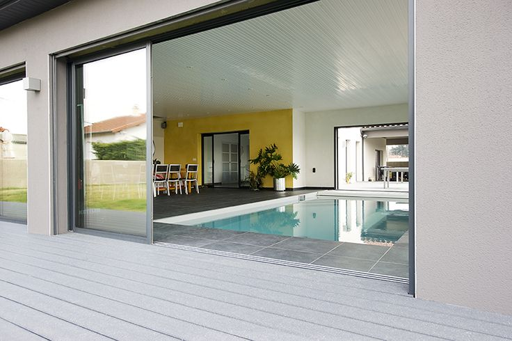 UPM ProFi Deck 150 at private house in France.