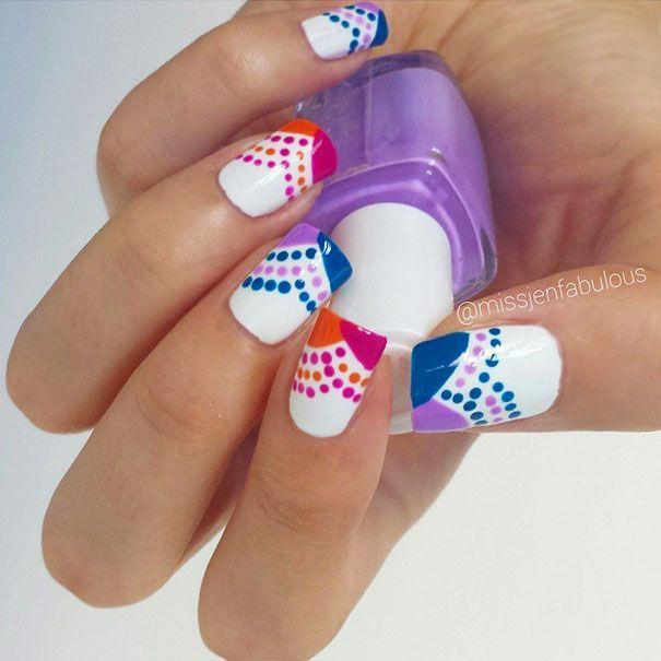 Best 25+ Wave Nails Ideas On Pinterest