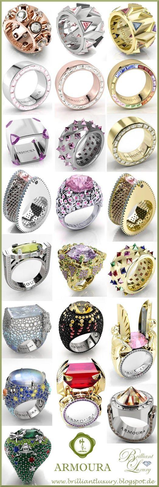 Brilliant Luxury ♦Armoura Fine Jewelry (post 100)