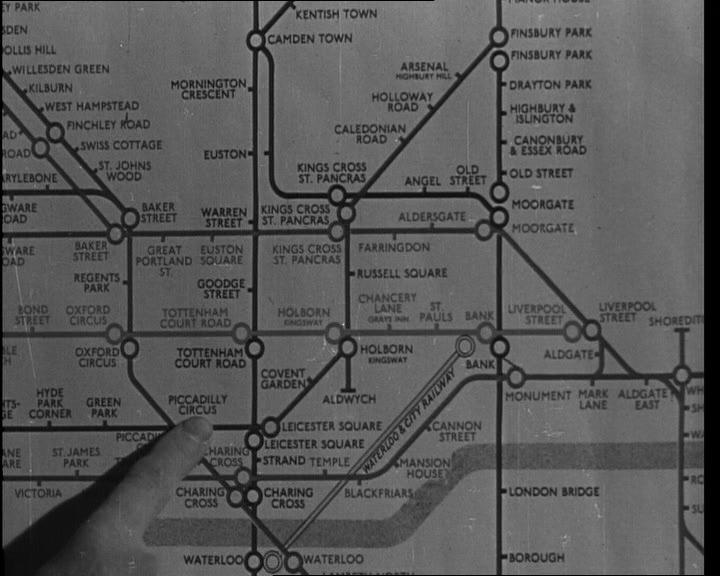 Best London Images On Pinterest British Isles Vintage Videos - London map 1945