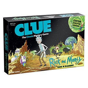 Was it Tammy with the Mega Seeds on Pluto? Or Zeep Xanflorp with Rick's Flask on Nuptia 4? Guide custom sculpted versions of the cast around the game board through interdimensional portals and get to the bottom of this high-concept sci-fi rigamarole.