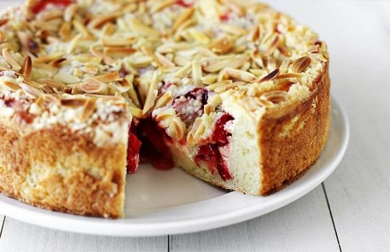 Cherry-Cream Cheese Coffee Cake
