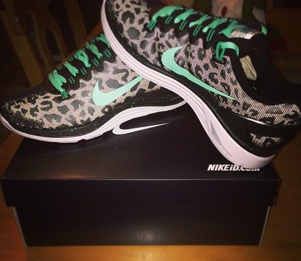 Cheetah Print Nike`s @Luuux