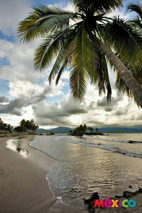 Playa de San Blas en la Riviera Nayarit Mexico