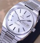 VINTAGE OMEGA SEAMASTER AUTOMATIC DAY&DATE CAL1020 SILVER DIAL DRESS MEN'S WATCH
