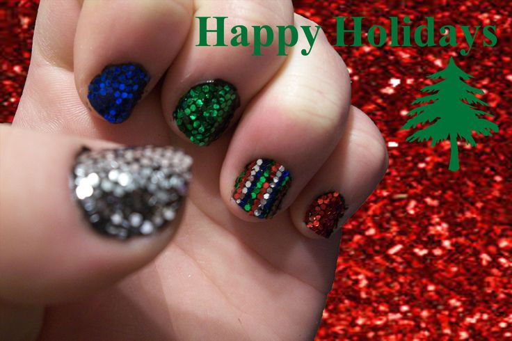 Nail Art Challenge, Day 25: Christmas Theme