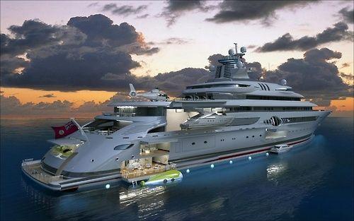 Luxury Super Yacht