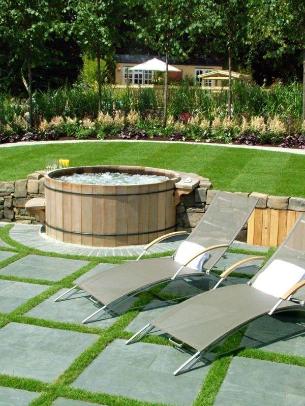 Whirlpool Im Garten Gonnen Sie Sich Diese Besonde Art Entspannung Besonde Diese Entspannu Landschaftsbau Fur Kleinen Hinterhof Whirlpool Garten Whirlpool