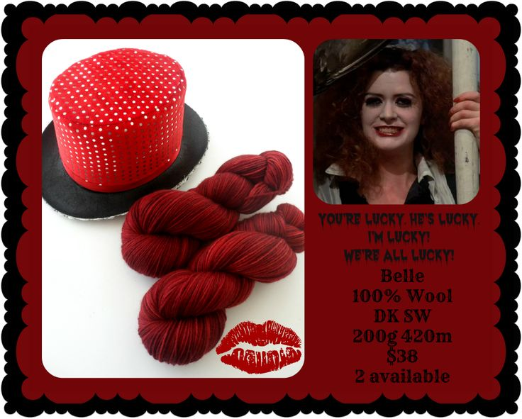 We're All Lucky! - Rocky Horror Picture Show | Red Riding Hood Yarn
